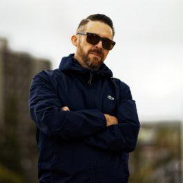Photo of producer/rapper Rookie GØLDNRØD